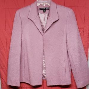 Wool & mohair suit jacket